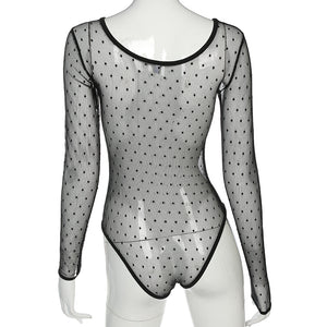 Boss Lady Mesh Bodysuit
