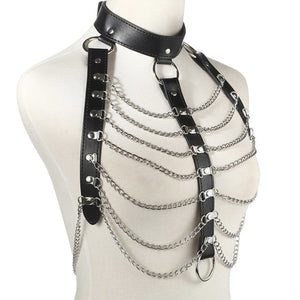 Leather Body Chain