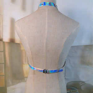 Handmade Holographic Body Harness
