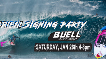 Buell Surf Shop GROM Nite with Jamie O'Brien