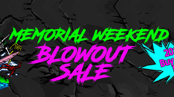 Buell Surf Shop Memorial Weekend BLOWOUT SALE!