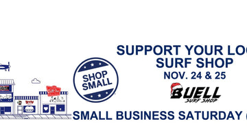 Support Your Local Surf Shop and Shop Small This Weekend