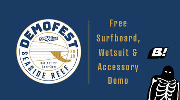 Buell Wetsuits Demo Day this Saturday with Surfride!
