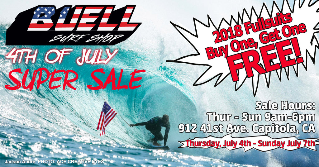 4th Of July Super Sale Buell Wetsuits Surf