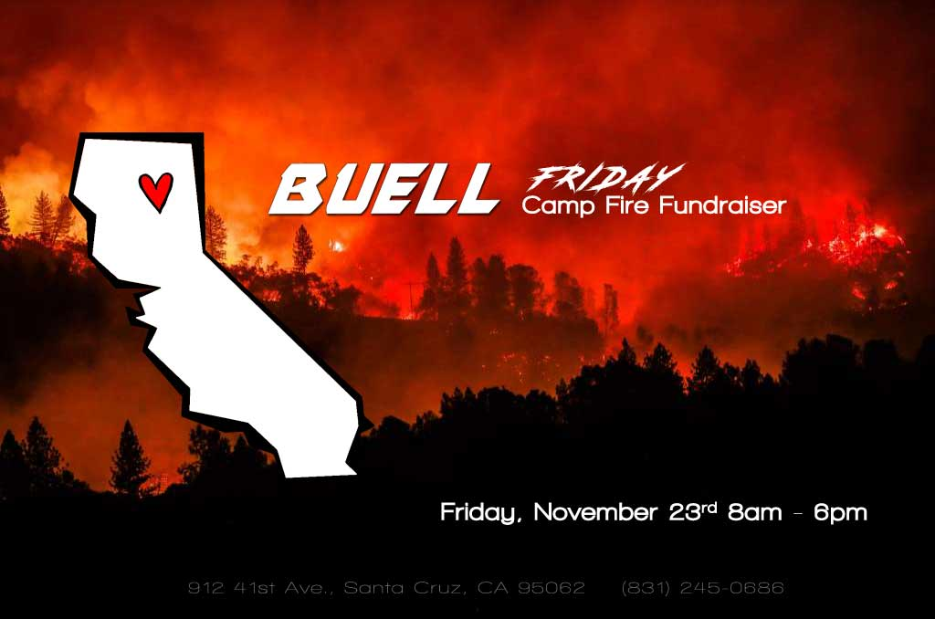 Buell Friday Sale and Camp Fire Fundraiser