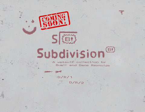 Buell and Dane Reynolds Subdivision Wetsuit Label Logo