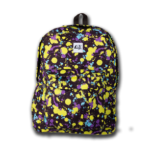 Buell Splatter Backpack- Yellow Splatter