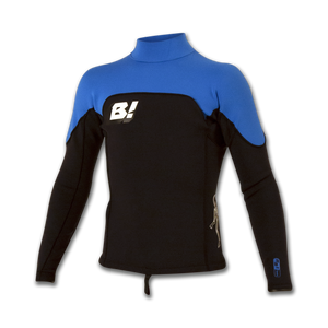 RB1 1MM L/S Jacket Men's- Black/Electric Blue