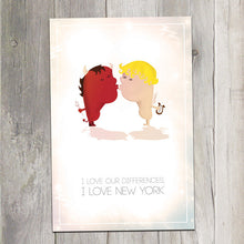 Box 14 postcards | Love & Differences in NY - Cuestiondegustos
