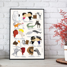 Poster love & differences | Art Print 11x17"