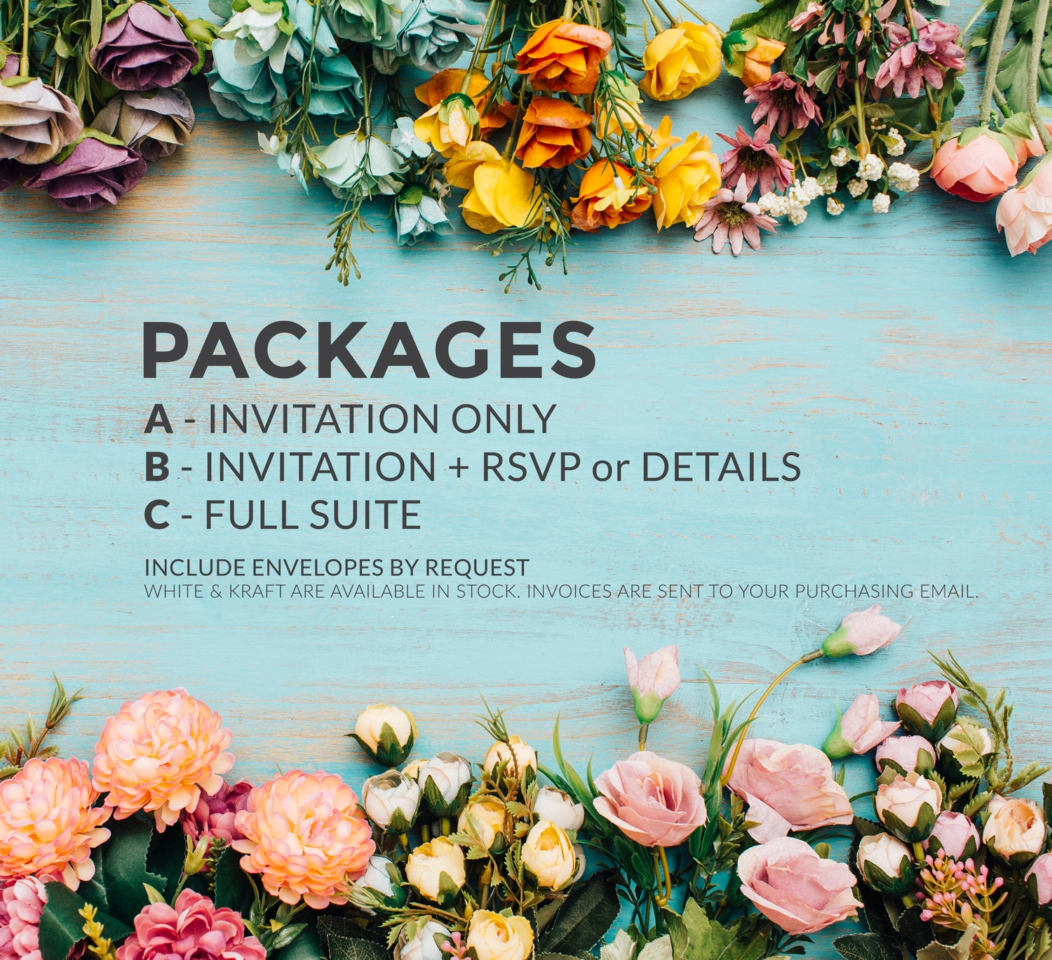 Pink Floral Boho Wedding Invitations - DesignsbyZal