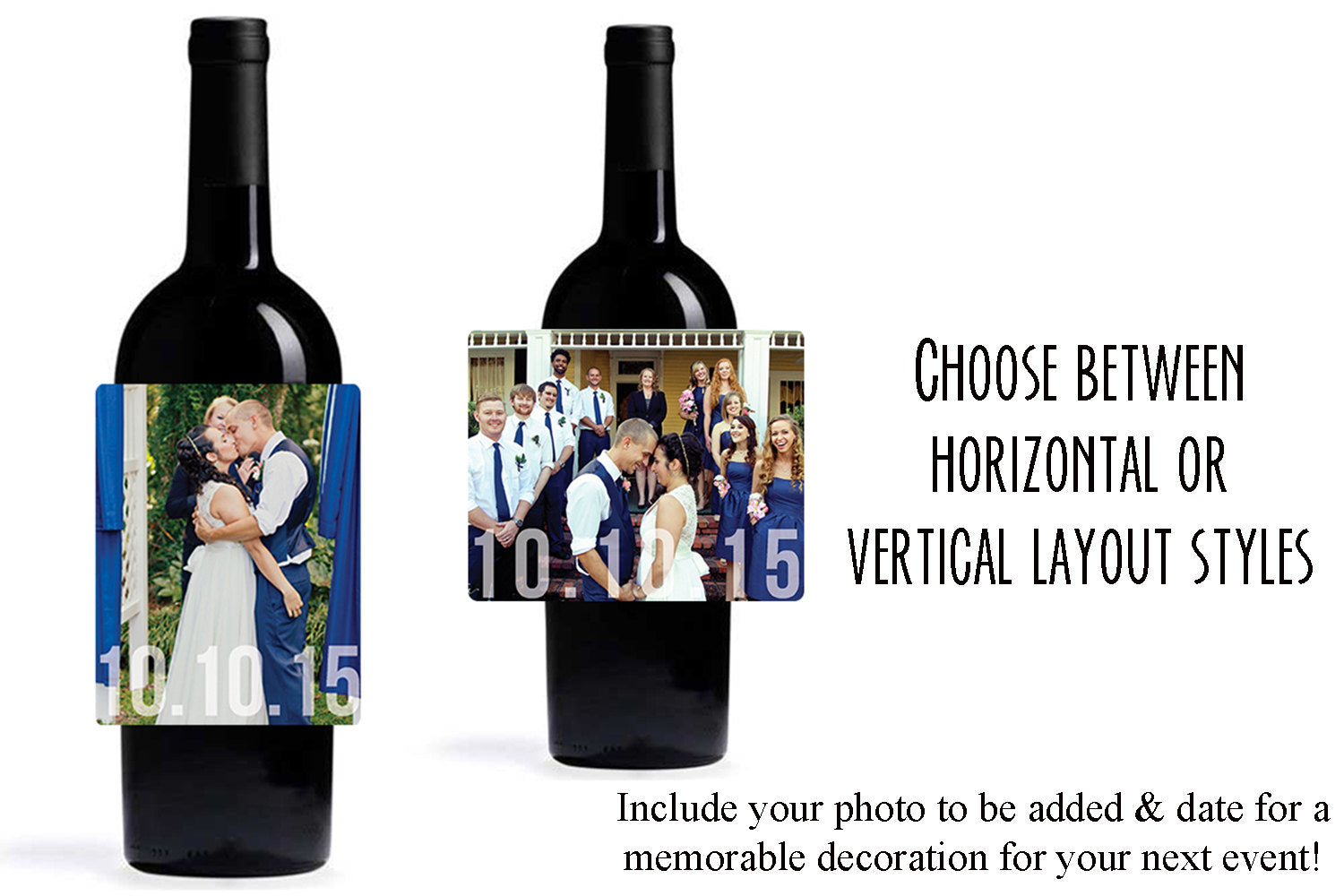 Custom Photography Wine Bottle Labels | Personalized Wine Bottle Labels - DesignsbyZal