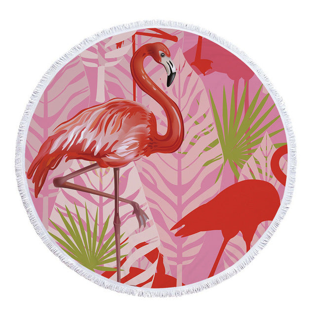 'red flamingo'