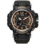 male  luxury   unique  fashion  digital & quartz  watch