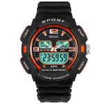 men's  sport  minimalist  small  digital & quartz  watch