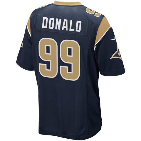 Aaron Donald Los Angeles Rams Nike Game Jersey Navy