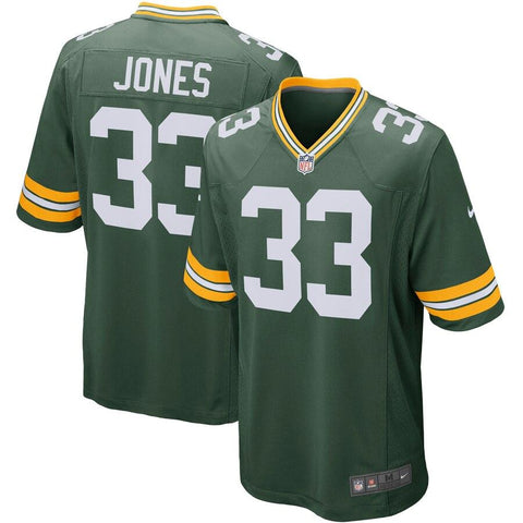 Aaron Jones Green Bay Packers Nike Player Game Jersey Green