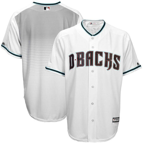 ArizonaDiamondbacks Majestic Official Cool Base Jersey White