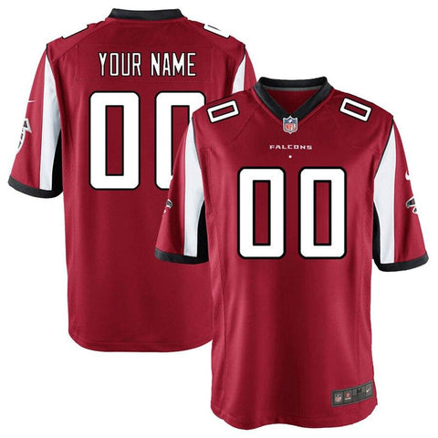 AtlantaFalcons Nike Custom Game Jersey - Red