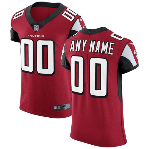 AtlantaFalcons Nike Vapor Untouchable Custom Elite Jersey - Red