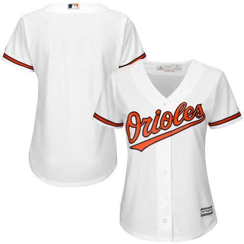 BaltimoreOrioles Majestic Women's Cool Base Jersey White