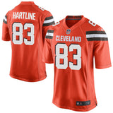 Brian Hartline Cleveland Browns Nike Game Jersey Orange