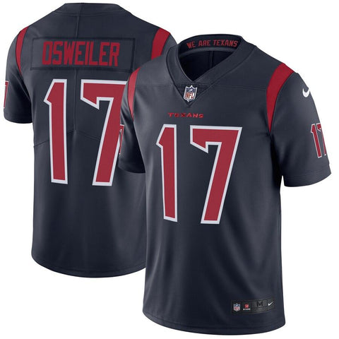 Brock Osweiler Houston Texans Nike Color Rush Limited Jersey Navy