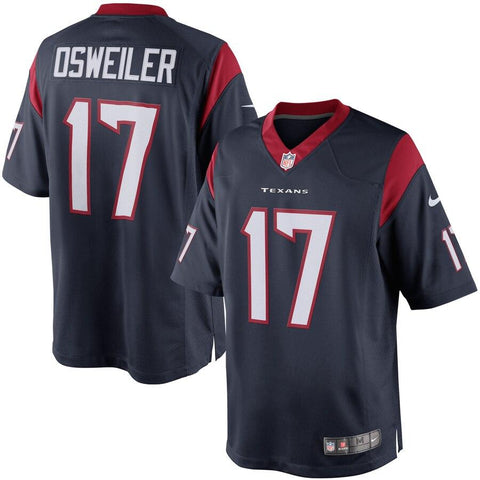 Brock Osweiler Houston Texans Nike Limited Jersey Navy