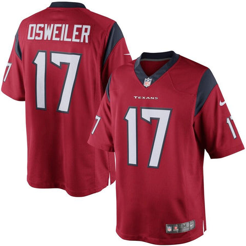 Brock Osweiler Houston Texans Nike Limited Jersey Red