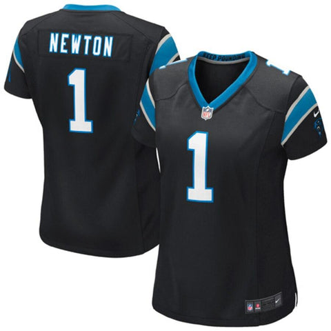 Women's Cam Newton Carolina Panthers Nike Game Jersey Black