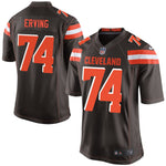Cameron Erving Cleveland Browns Nike Game Jersey Brown