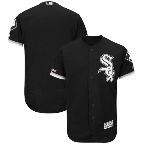 Chicago WhiteSox Majestic Alternate Flex Base Authentic Collection Team Jersey Black