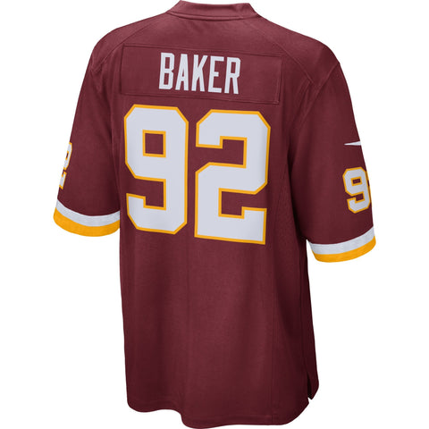 Chris Baker Washington Redskins Nike Game Jersey Burgundy