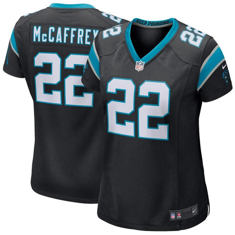 Women's Christian McCaffrey Carolina Panthers Nike Game Jersey Black
