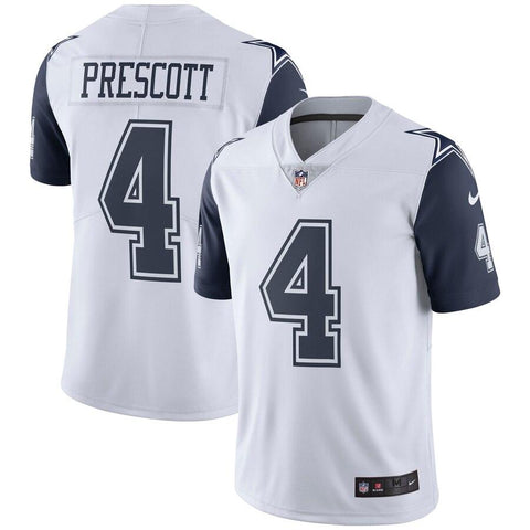 Dak Prescott Dallas Cowboys Nike Vapor Untouchable Color Rush Limited Jersey White