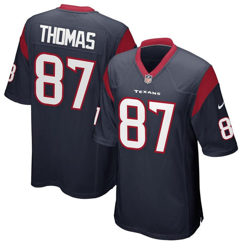 Demaryius Thomas Houston Texans Nike Game Jersey Navy