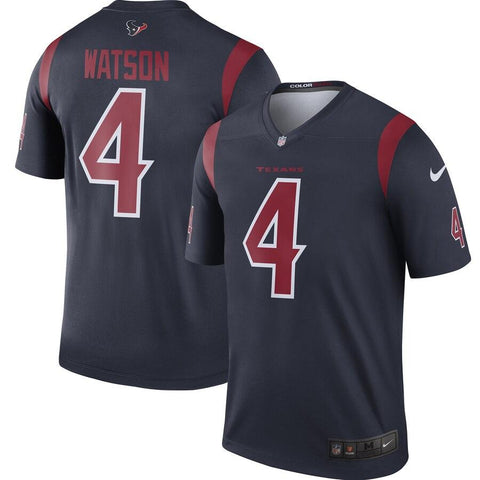 Deshaun Watson Houston Texans Nike Color Rush Legend Jersey Navy