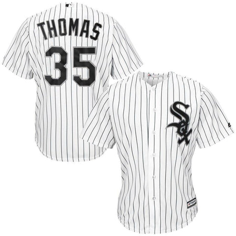 Frank Thomas Chicago White Sox Majestic Cool Base Player Jersey White