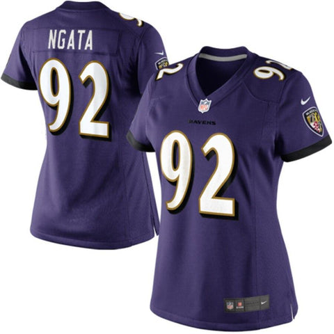 Women's Haloti Ngata Baltimore Ravens Nike Limited Jersey Purple