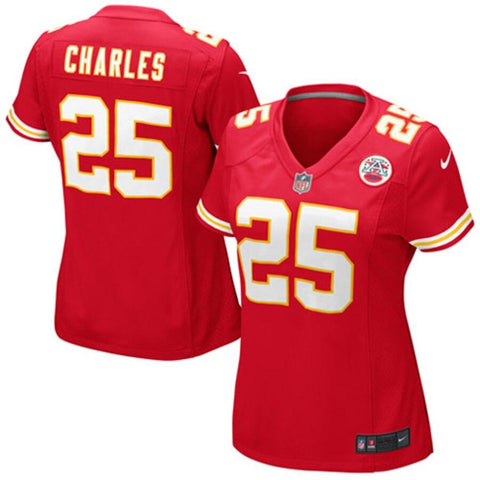 Women's Jamaal Charles Kansas City Chiefs Nike Game Jersey Red