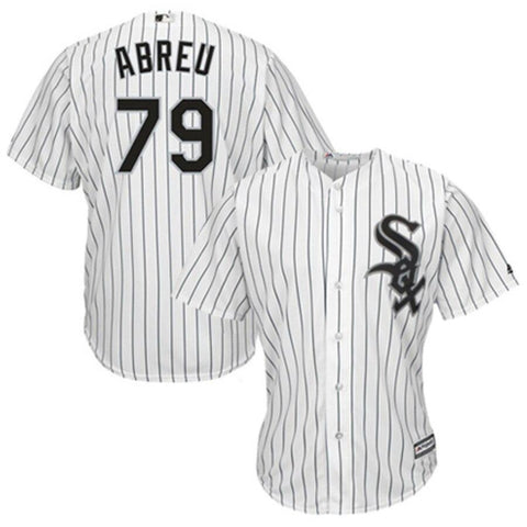 Jose Abreu Chicago White Sox Majestic Cool Base Player Jersey White