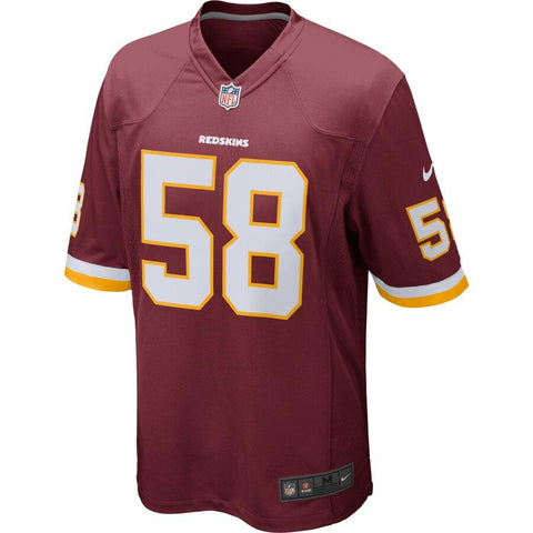 Junior Galette Washington Redskins Nike Game Jersey Burgundy