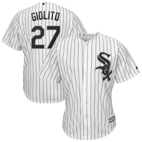 Lucas Giolito Chicago White Sox Majestic Official Cool Base Player Jersey White