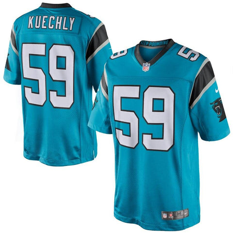 Luke Kuechly Carolina Panthers Nike Limited Jersey Panther Blue