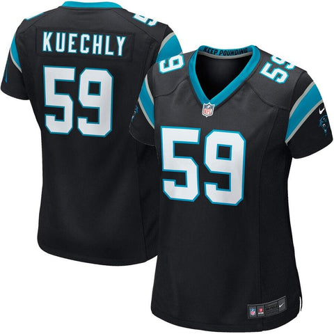Women's Luke Kuechly Carolina Panthers Nike Game Jersey Black