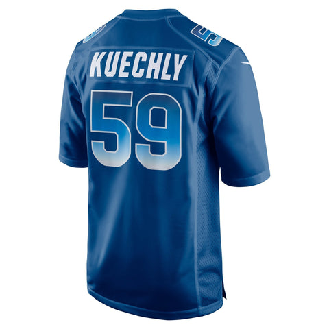 Luke Kuechly NFC Nike 2018 Pro Bowl Game Jersey Royal