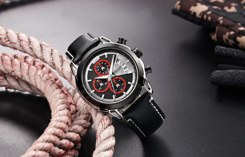 male  luxury  vintage  fashion  quartz  watch