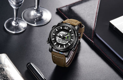 men's  luxury  simple  cool  quartz  watch