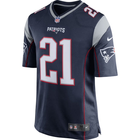 Malcolm Butler New England Patriots Nike Game Jersey Navy Blue