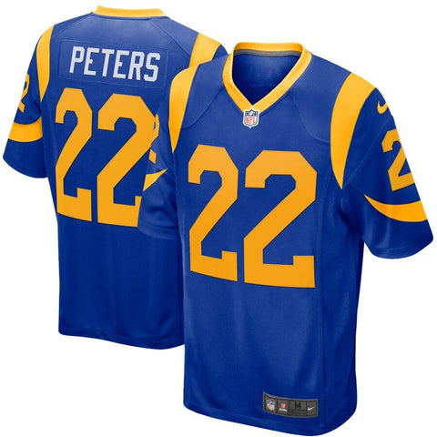 Marcus Peters Los Angeles Rams Nike Game Jersey Royal